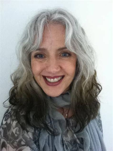 ombre hair on older women on my way to the reverse ombre look gray pride