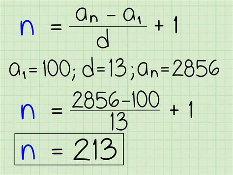 4 ways to find any term of an arithmetic sequence wikihow