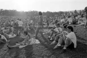 from the grateful dead concert at pine knob