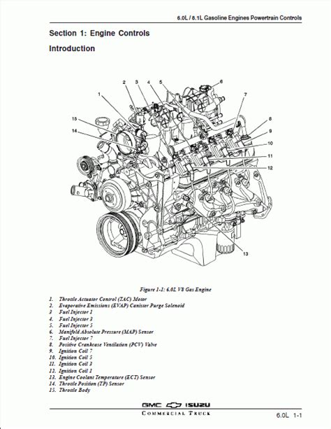 isuzu npr parts diagram isuzu 6 0l 8 1l gas engine powertrain controls