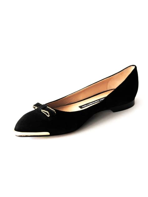 black flat ballerina shoes connection gaia flat ballerina shoes in black lyst
