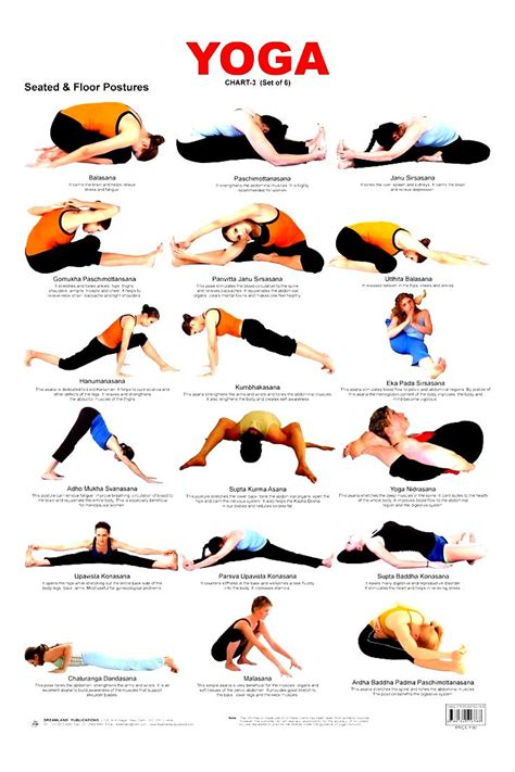 Printable Beginner Yoga Poses Chart | beginner yoga poses chart work out picture media work
