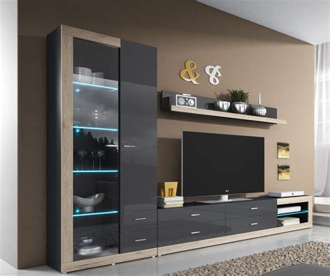 modern wall entertainment units home staging accessories tessa 2 modern wall unit montefiorecentre org