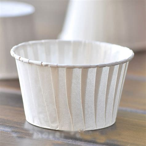 How To Make Paper Cups For Cupcakes - white cupcake cases 50pcs cupcake paper white muffin