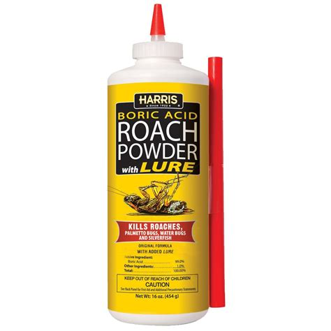 boric acid roach powder 16oz pf harris