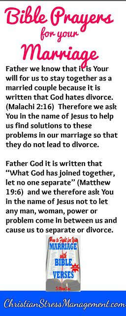 Marriage Bible Verses Divorce by Christian Stress Management How To Fight For Your