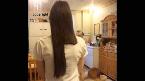 inches cut   long hair