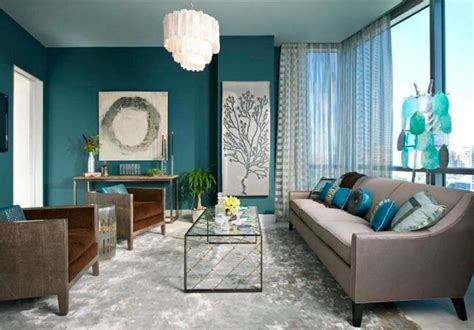 teal colored couches neutral sofa color with teal wall color and white sheer