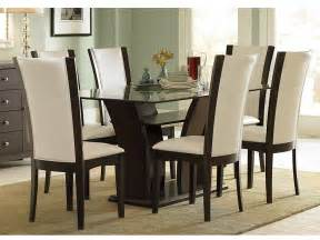 dining set with glass table top glass top dining table sets