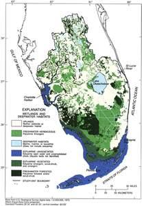 wetlands and deepwater habitats of south florida 1996