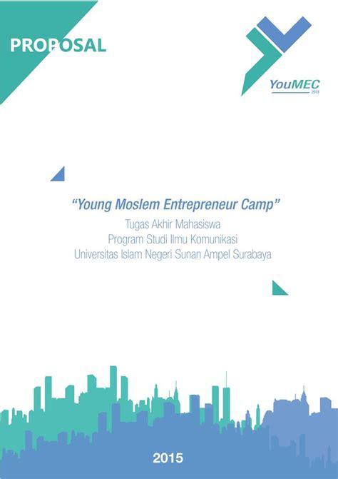 desain layout event desain cover proposal event quot youmec young moslem