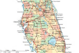regional map of central florida