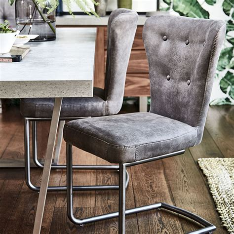 Grey Upholstered Dining Room Chairs Saxby Upholstered Dining Chair Grey Dining Chairs Living Room