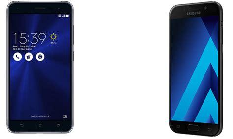 Hp Asus Vs Samsung perbandingan bagus mana hp asus zenfone 3 vs samsung galaxy a5 2017 segi harga kamera dan