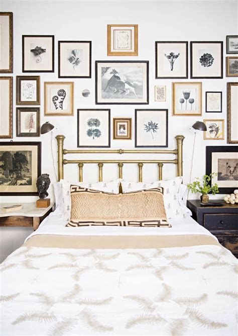 Frames Above Bed Free Black And White Botanical Emily A Clark