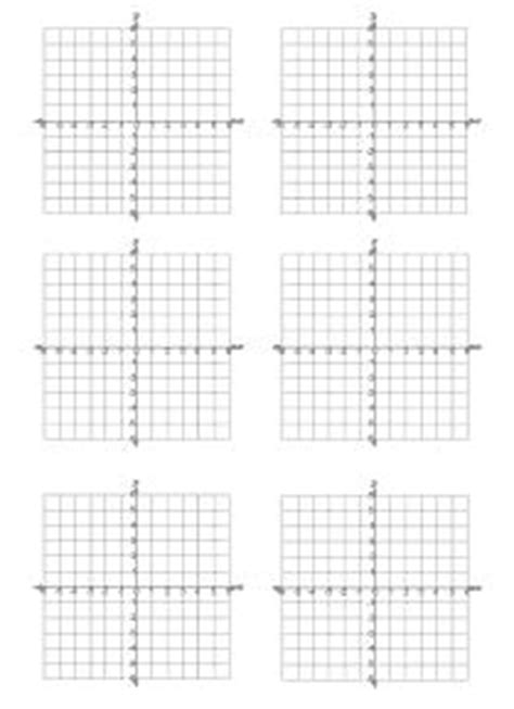 printable graph paper with 6 graphs practice your graphing with these printables math