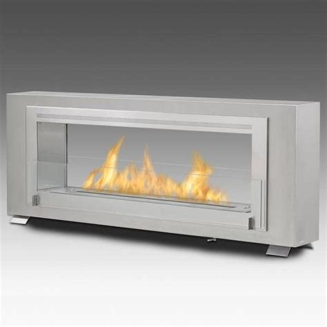 Fireplace Biofuel by Eco Feu Santa 2 Sided Biofuel Fireplace
