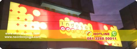 Jual Lu Acrylic Jogja contoh neon box 081 3288 50011 neon box di jogja