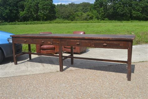 long work bench late victorian work bench long table antiques atlas