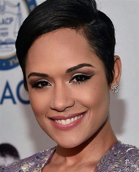 empire actress with short hair short hairstyles actress on the show empire 17 best ideas