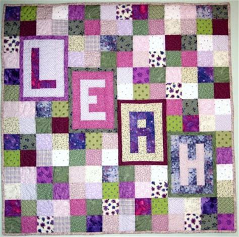 Quilt Shop Names by Personalized Name Quilt Abc Baby Quilts Shop