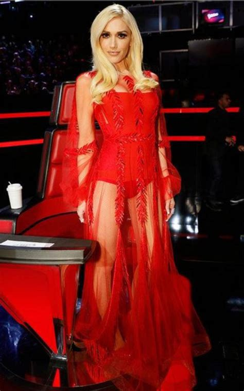 Gwenn Dres dress gown dress gwen stefani see through