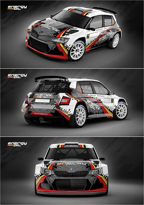 Audi Competition Aufkleber by Design For Slovak Mm Rally Team Who Will Participate In