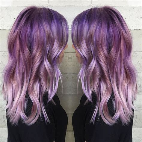 amethyst hair color frozen amethyst purple hair color to silver purple hair