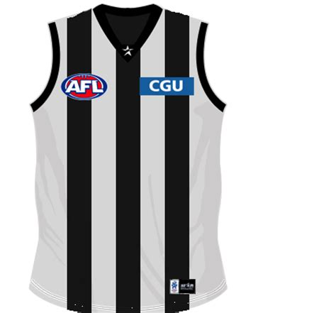 design afl jersey collingwood jersey design thread page 2 magpies
