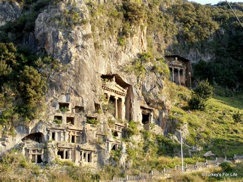 Dalaman Rok fethiye s lycian rock tombs turkey s for
