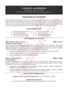 Resume Format For 1 Year Experienced Mechanical Engineer Engg Model Resumes Trust Formed By The Students Of