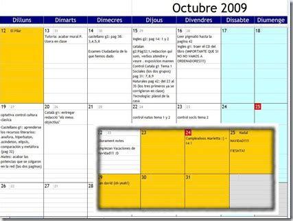 Calendario Compartido Educativa Calendario Compartido Con Toda La Clase