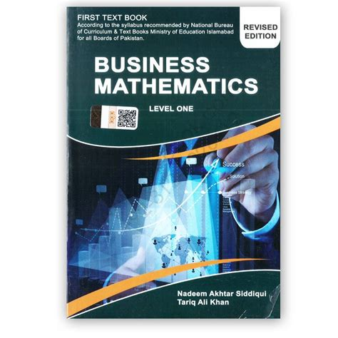 Business Mathematics Book For Mba by Business Mathematics For I Part 1 By Nadeem Akhtar
