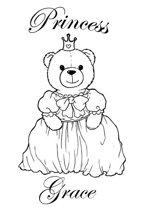 coloring pages of the name grace princess coloring pages