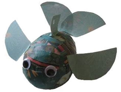 How To Make Paper Mache Fish - papier mache fish kid s craft project