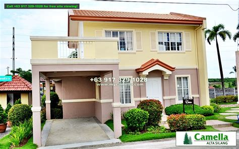 elaisa or sapphire model house of camella home series iloilo by camella homes erecre group camella alta silang elaisa house for sale in silang