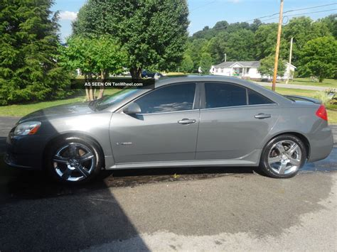 2008 Pontiac G6 Gxp Specs by 2008 Pontiac G6 Gxp Sedan 4 Door 3 6l