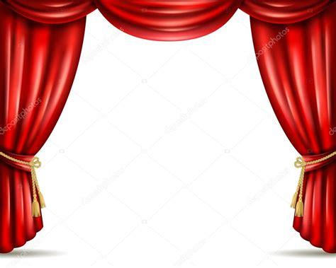cortinas teatro cortina de teatro aberto ilustra 231 227 o bandeira plana vetor