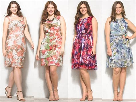 spring 2015 styles for ladies 50 plus plus size floral dresses spring summer 2015