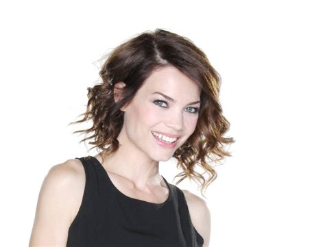 how to style rebecca herbst hair see general hospital star rebecca herbst s hottest