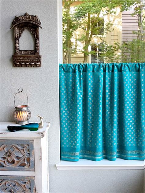 25 best ideas about turquoise curtains on