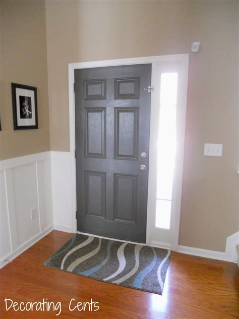 Decorating Cents Gray Front Door Gray Front Doors