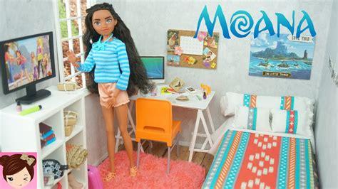 diy bedroom crafts disney moana diy doll bedroom easy doll crafts for kids