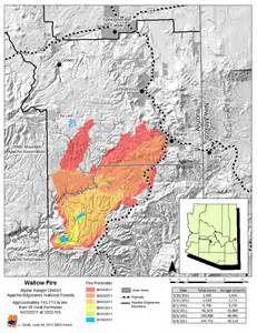 fires in arizona map arizona wildlfire closes forests forces