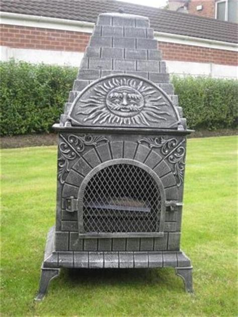 chiminea with pizza oven discover and save creative ideas