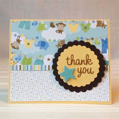 Handmade Baby Thank You Cards - best 25 baby thank you cards ideas on baby