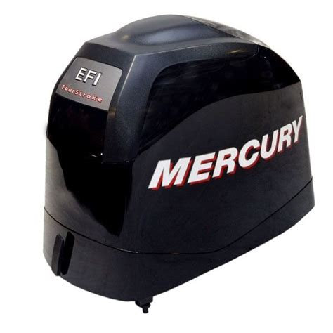 Quicksilver Black mercury l4na quicksilver efi black boat motor top cowling 8m0050004 ebay