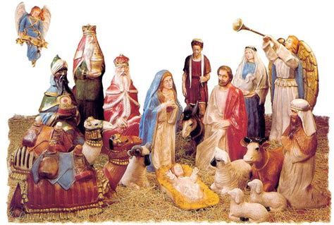 where to get life nativity set near size fiberglass nativity pieces sold separately aachristmas