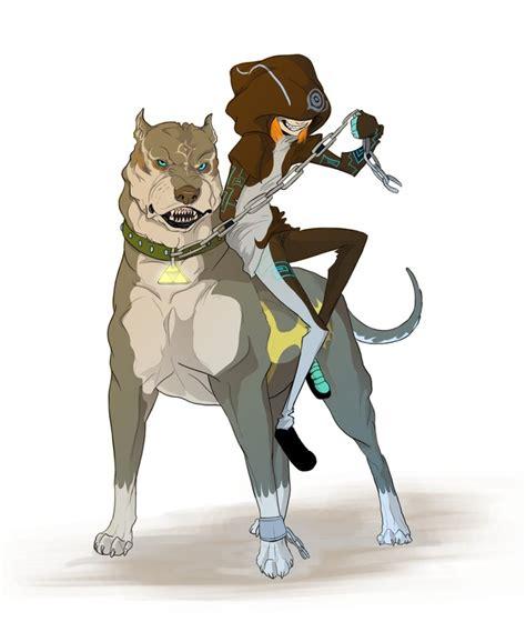twilight princess dog link  midna game hero