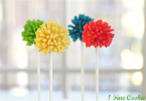 pomeranian pop out be different act normal pom pom cake pop